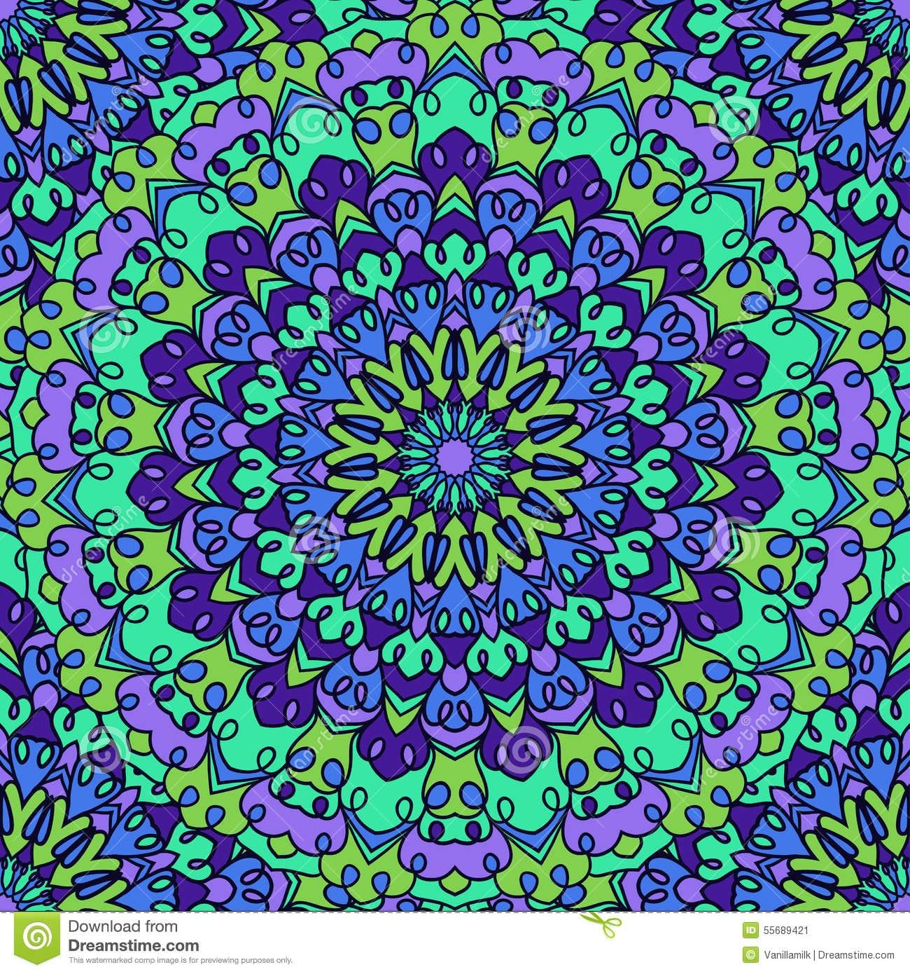 Fundo Sem Emenda Abstrato Decorativo Colorido Brilhante Glaring Do