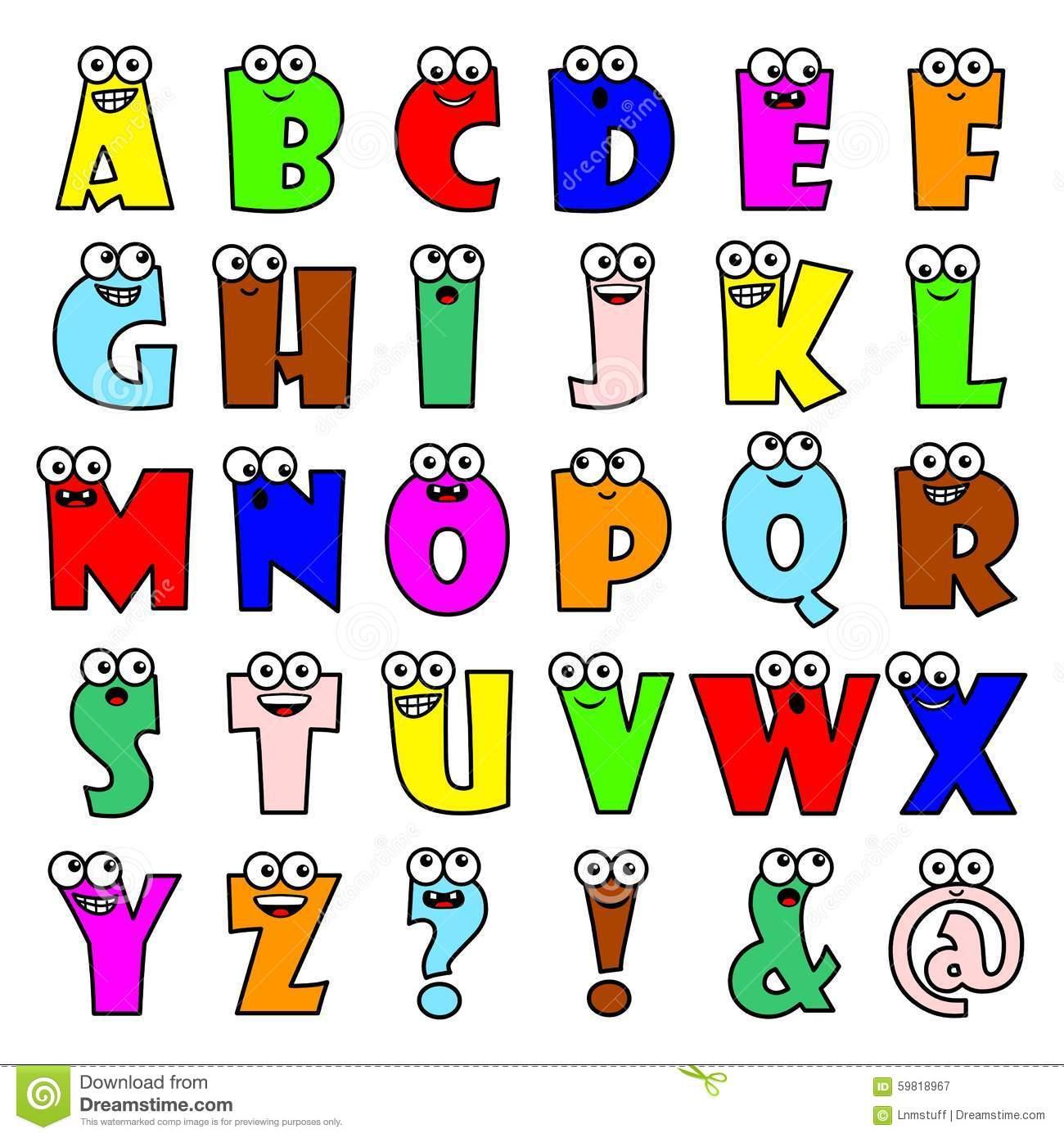 Desenhos De Letras Do Alfabeto