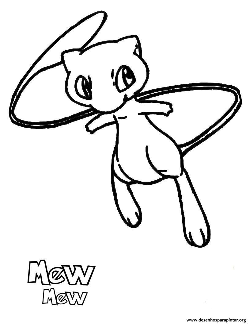 Desenhos Pokemon Para Imprimir, Colorir E Pintar – Nova Lista Com
