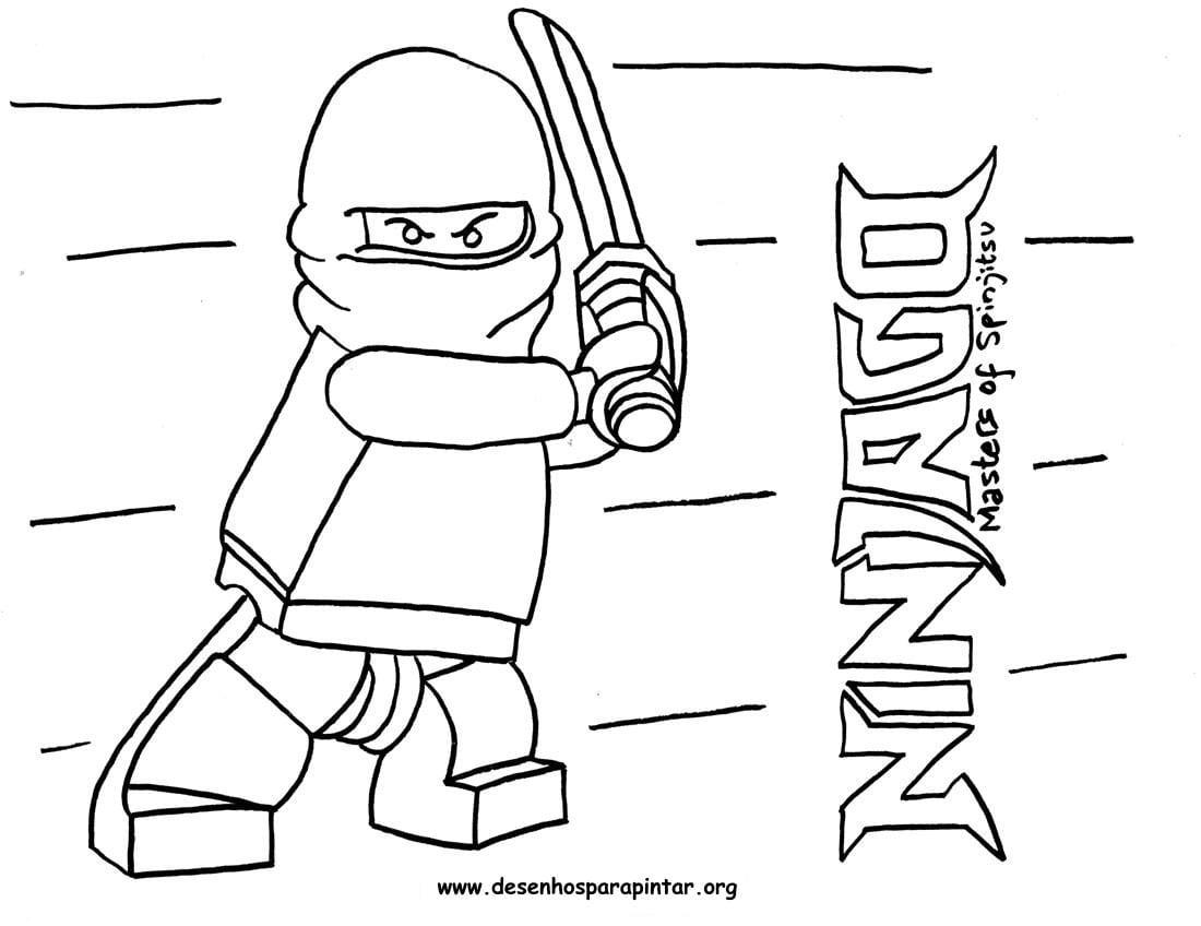 Lego Ninjago – Desenhos Para Imprimir Pintar E Colorir » Desenhos