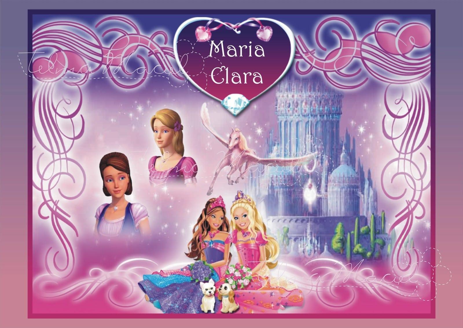 Telma Maciel Design  Aniversário  Barbie