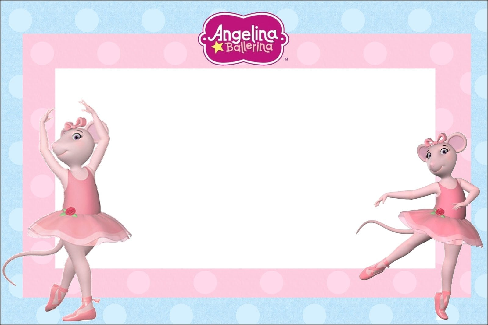 Kit Para Imprimir Da Angelina Ballerina