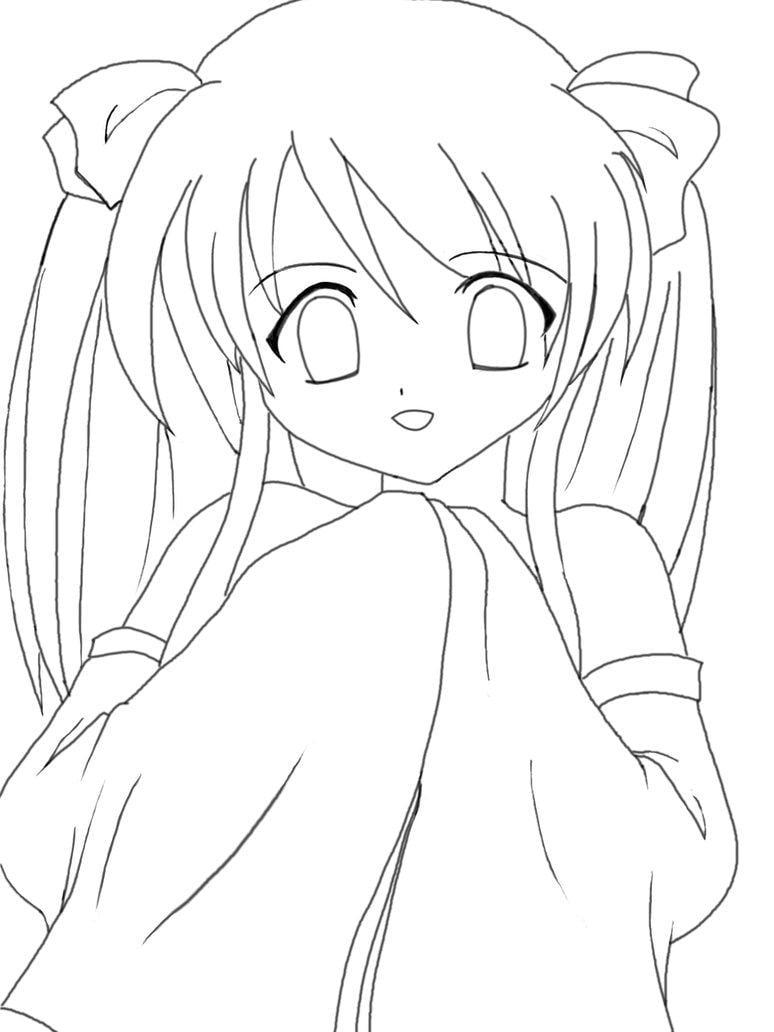 Resultado De Imagem Para Animes Para Colorir