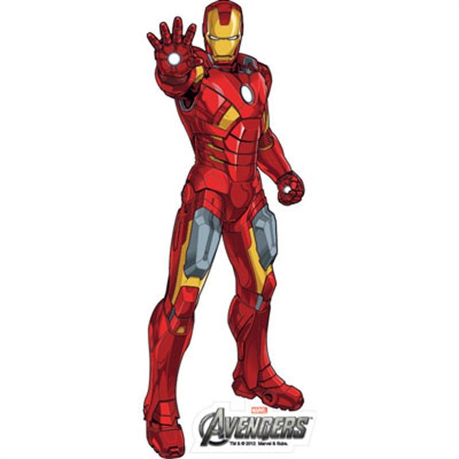 Homem De Ferro Desenho Os Vingadores