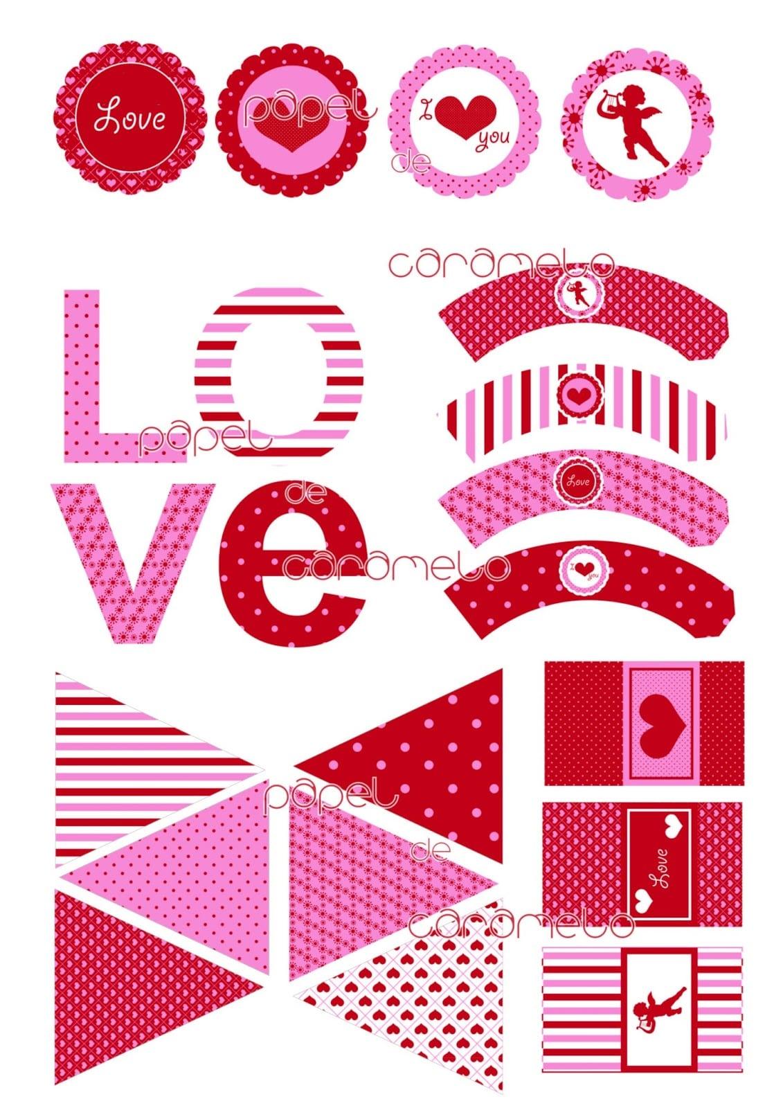 Stickers Para Imprimir De Corazones