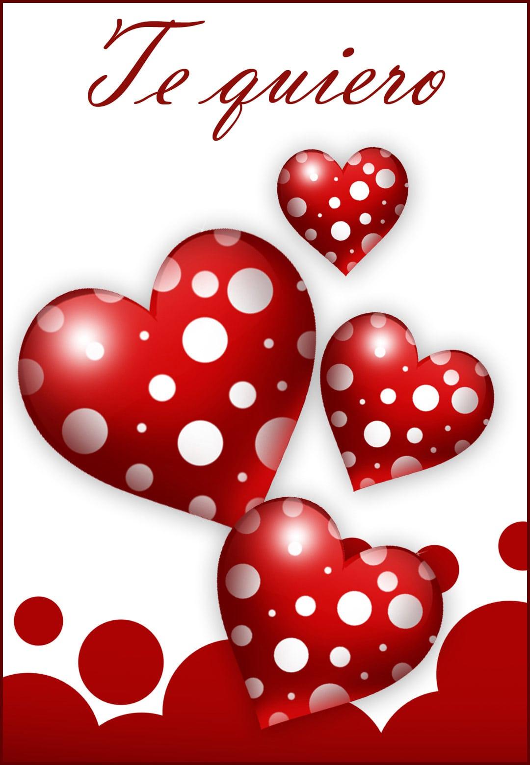 Tarjetas De Corazones De Amor Para Imprimir