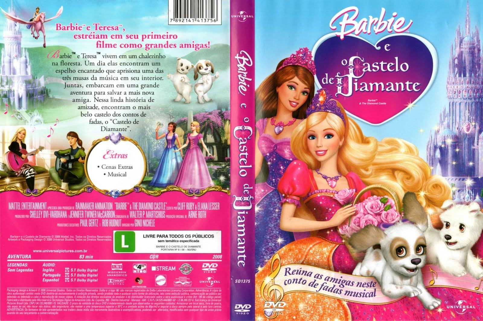 Barbie World  Barbie E O Castelo De Diamante