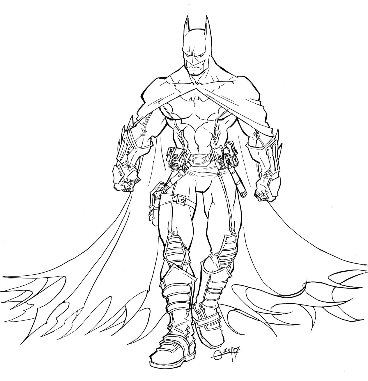 Labyrinth Labour  Batman Coloring Pages