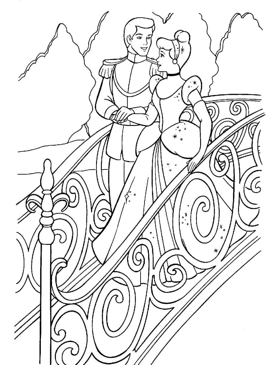 Desenhos Para Colorir Da Cinderela  Desenhos Para Pintar Da Cinderela