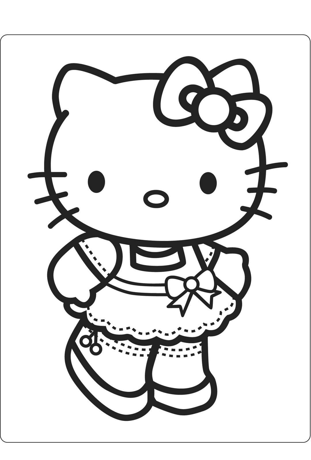 Desenhos Para Imprimir Da Hello Kitty