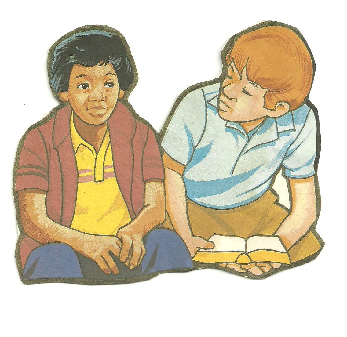 Figuras  Crianças Lendo A Bíblia    M I  Cultivadores De PÉrolas