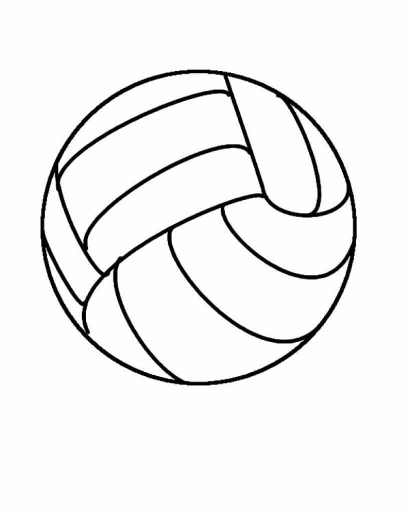 Desenhos De Bola Para Colorir
