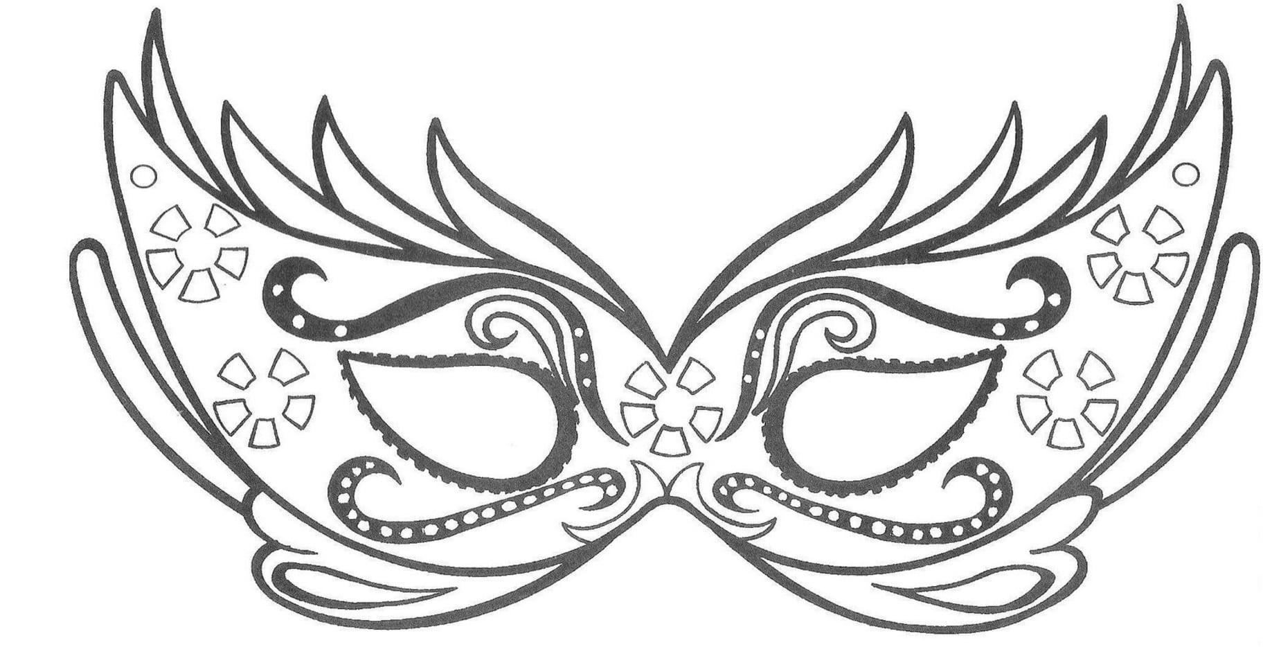 Desenhos Para Colorir Carnaval
