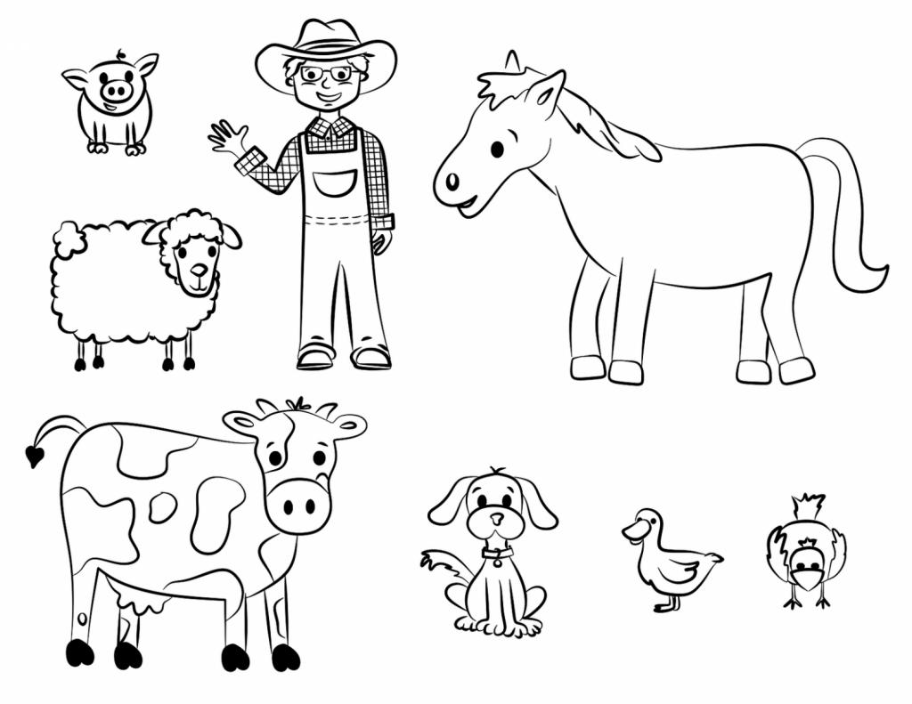 Desenhos Para Colorir E Imprimir De Animais
