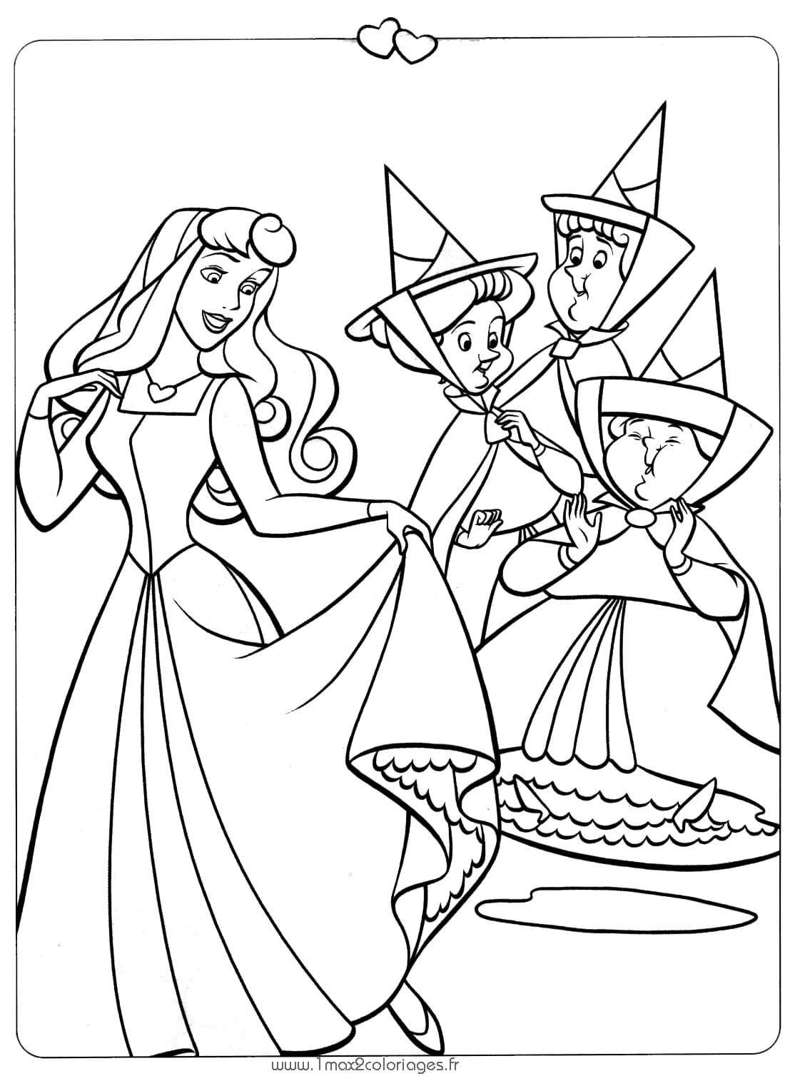 As Princesas Para Colorir