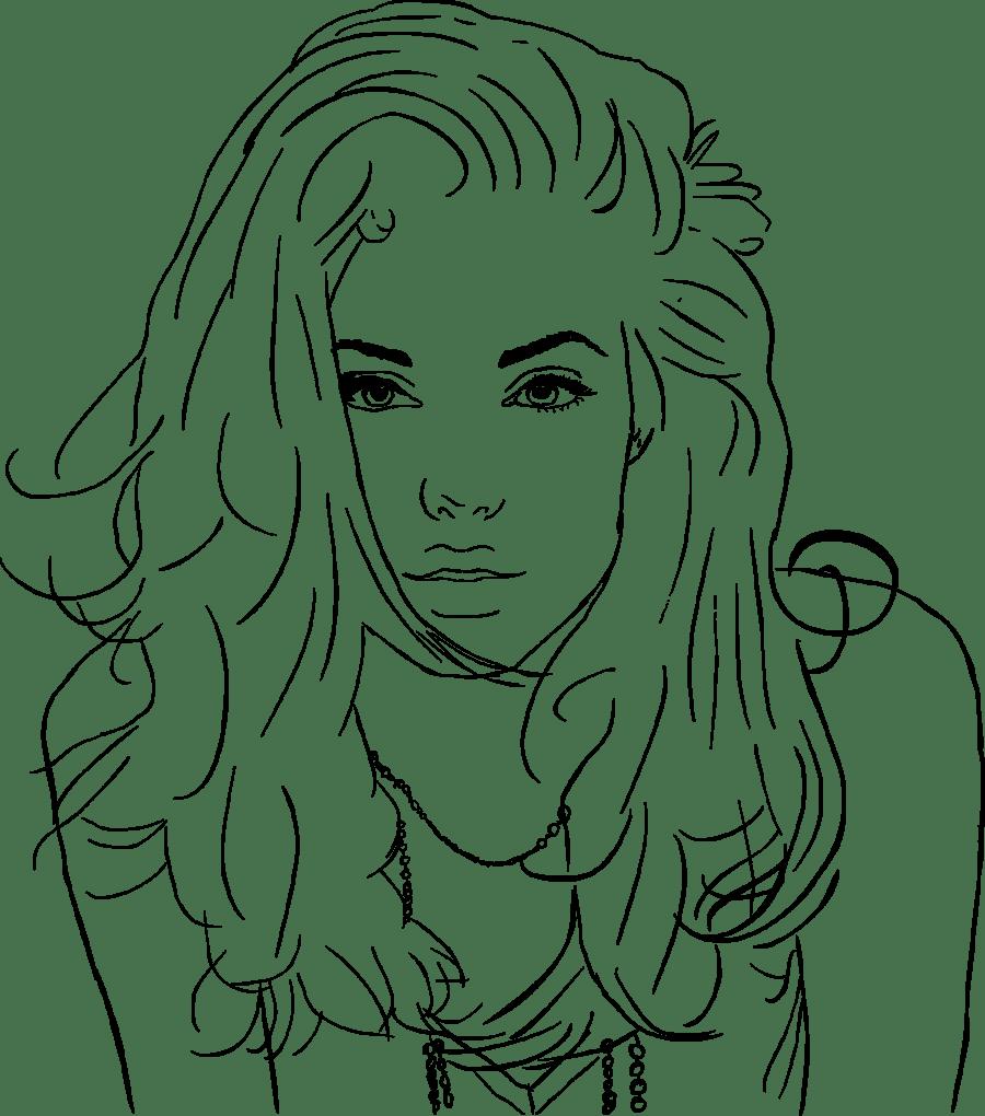 Desenhos Para Colorir Jolie