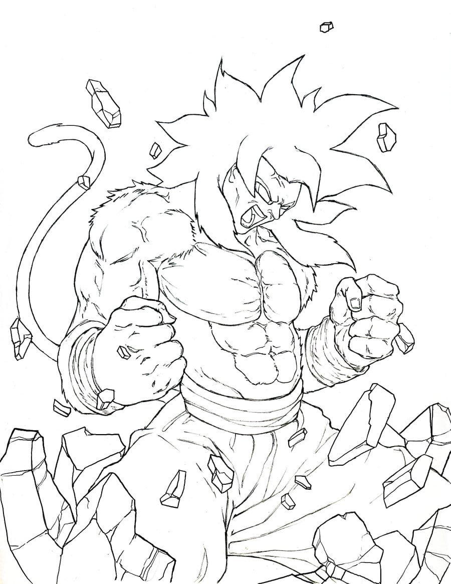 Desenhos Do Dragon Ball Z Para Colorir E Imprimir No Jogos Online Wx
