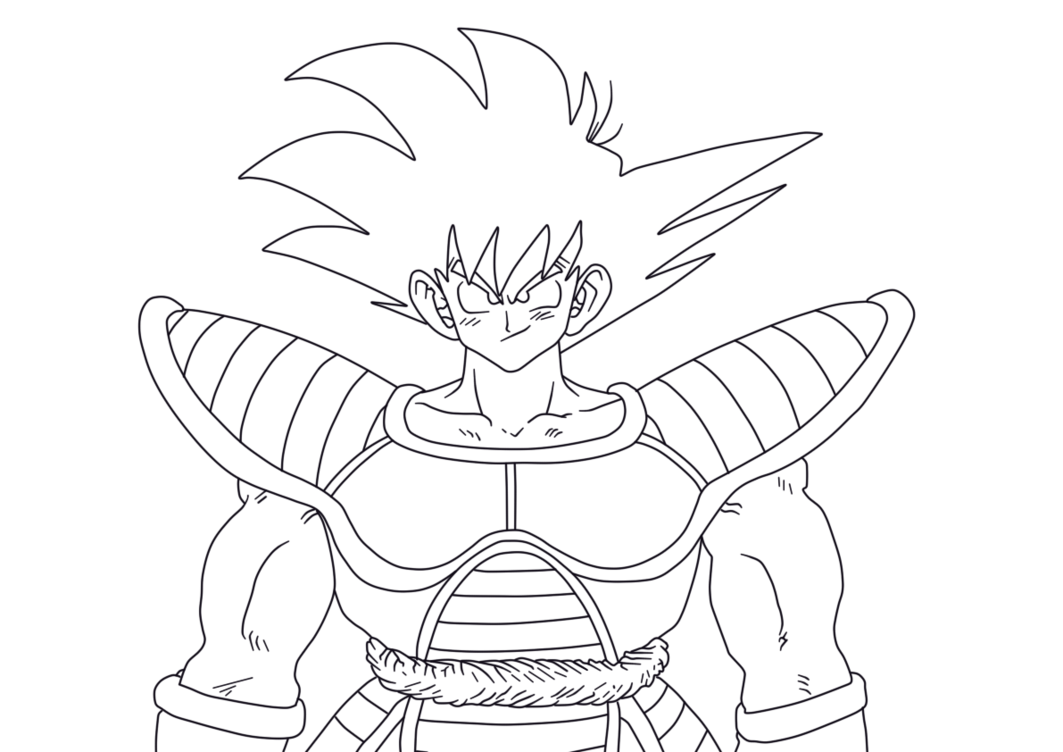 Desenhos Para Colorir Colorir Goku: Desenhos Para Colorir Do Dragon Ball Z