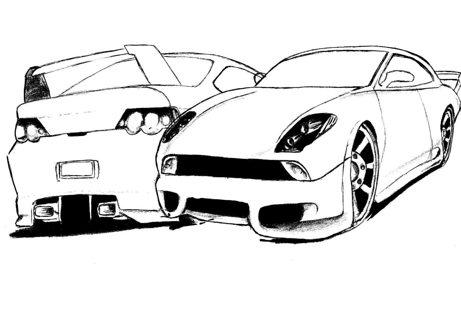 Desenhos Para Imprimir Dos Carros