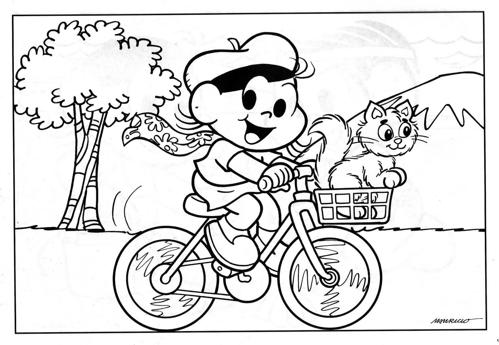 Desenhos Para Colorir Turma Da Monica Jovem Magali
