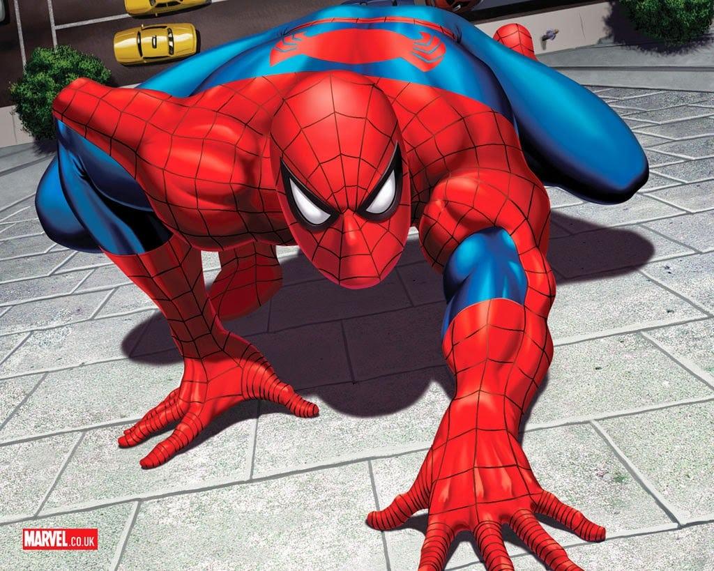 Desenho Do Homen Aranha