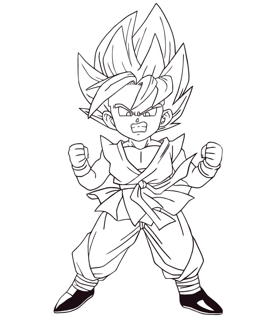 Desenhos Para Imprimir Dragon Ball Z