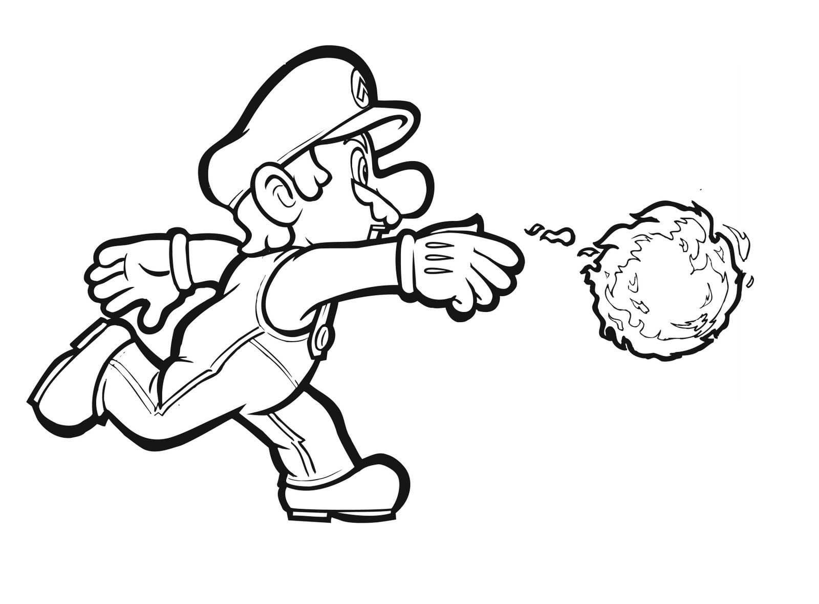 Desenhos Mario Bros