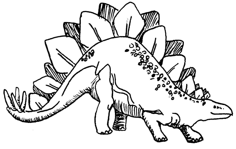 Dinossauros Para Pintar E Colorir