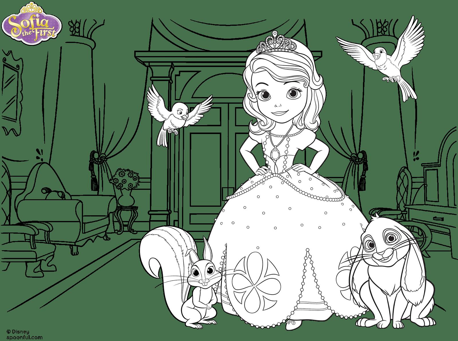 Imprimir Princesa Sofia
