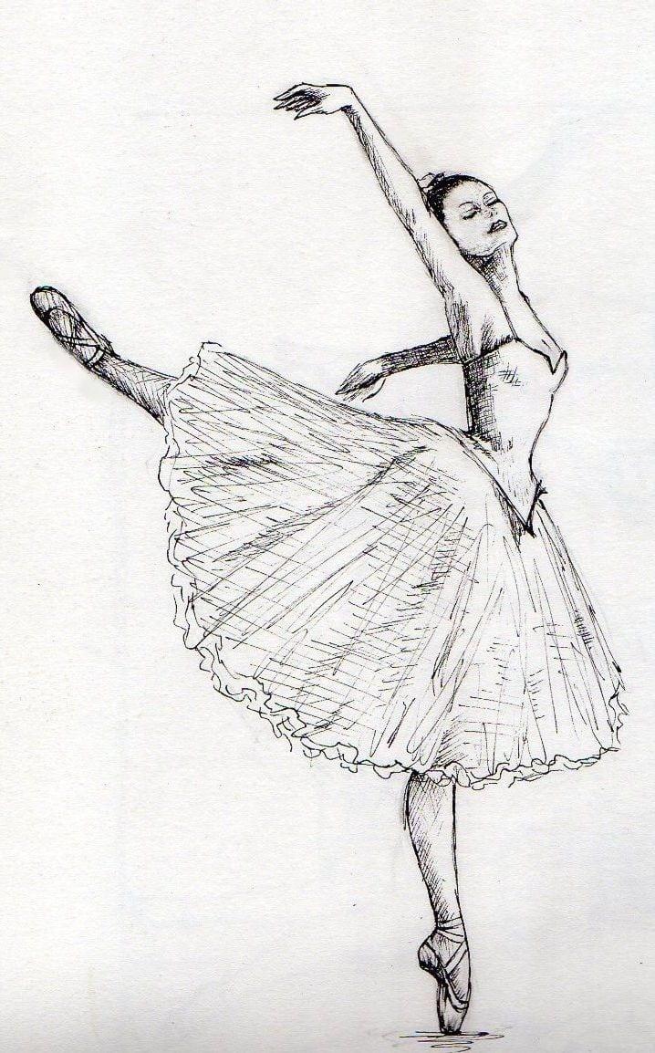 25+ Melhores Ideias Sobre Desenho De Bailarinas No Coloring City