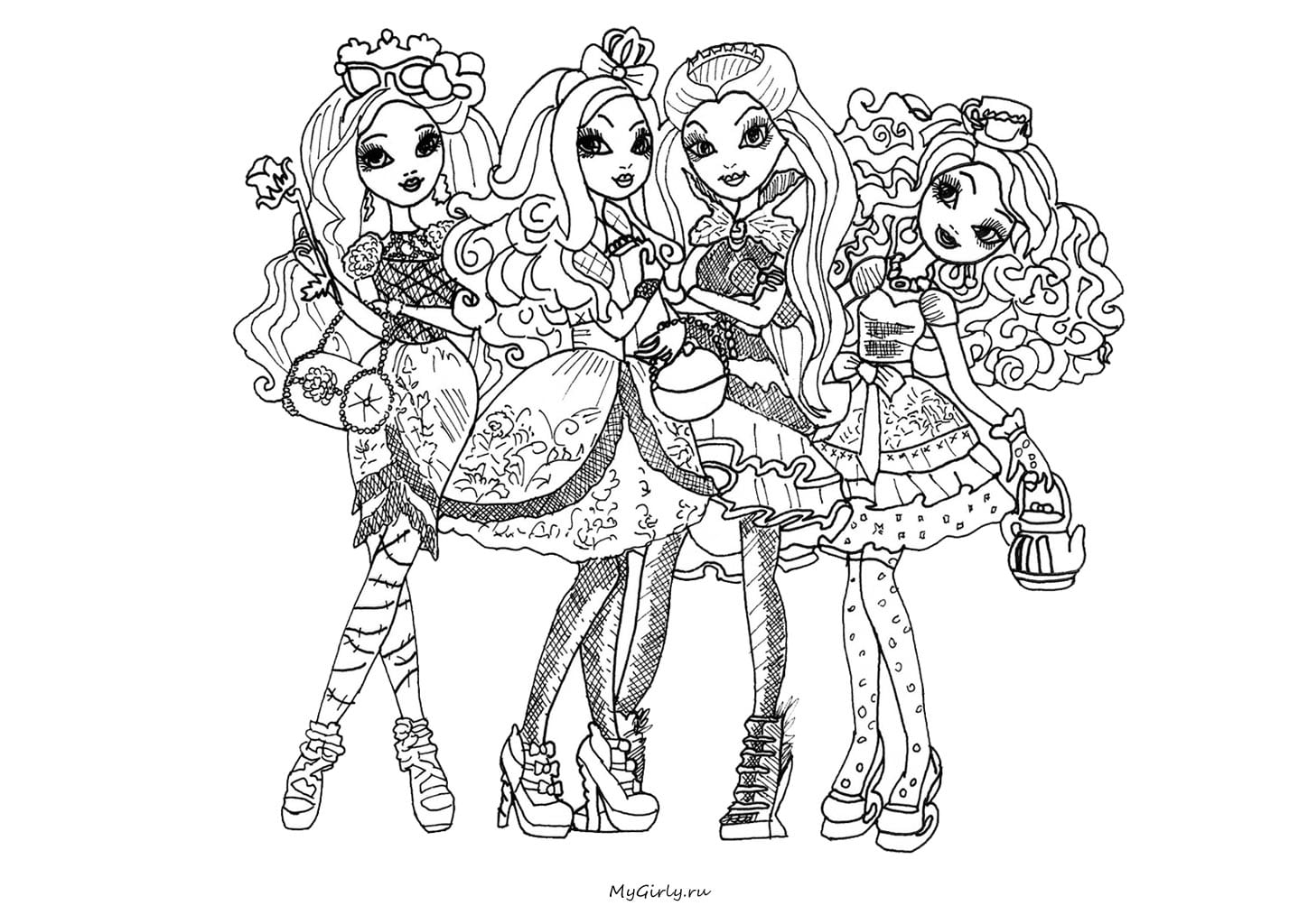 Free Printable Madeline Coloring Pages Dibujos Para Colorear