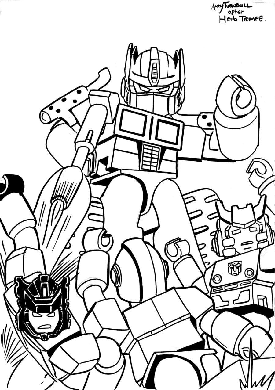 Desenhos Para Colorir [transformers] ~ Transformers Dioramas