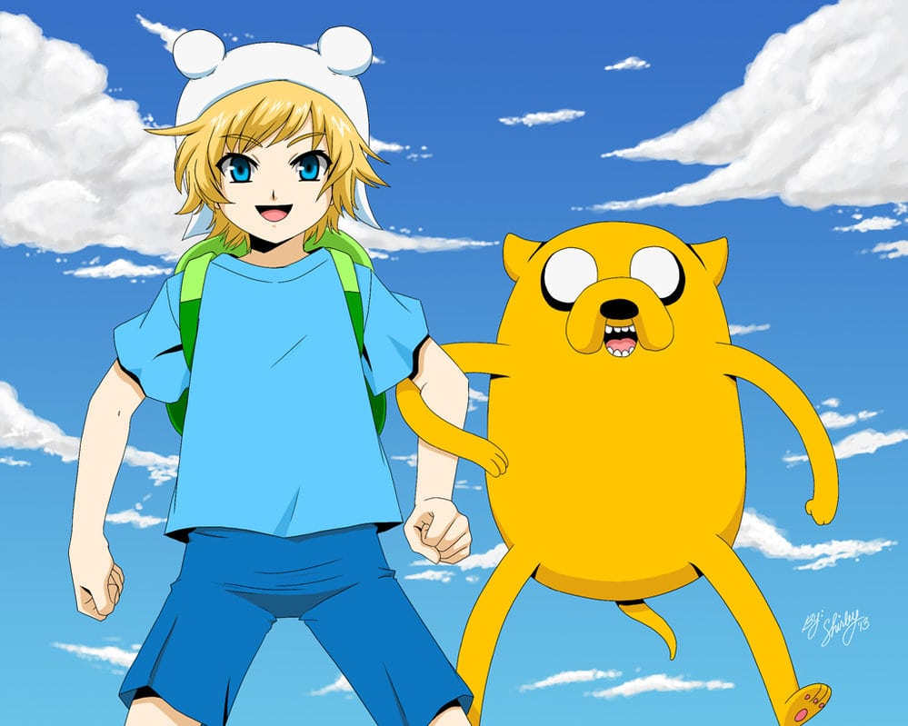 Anime Finn And Jake Wallpapers