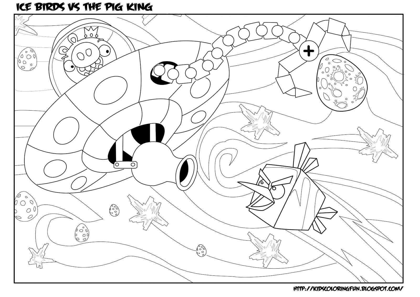 Angry Birds – Desenhos Para Colorir Pintar E Imprimir Dos Angry