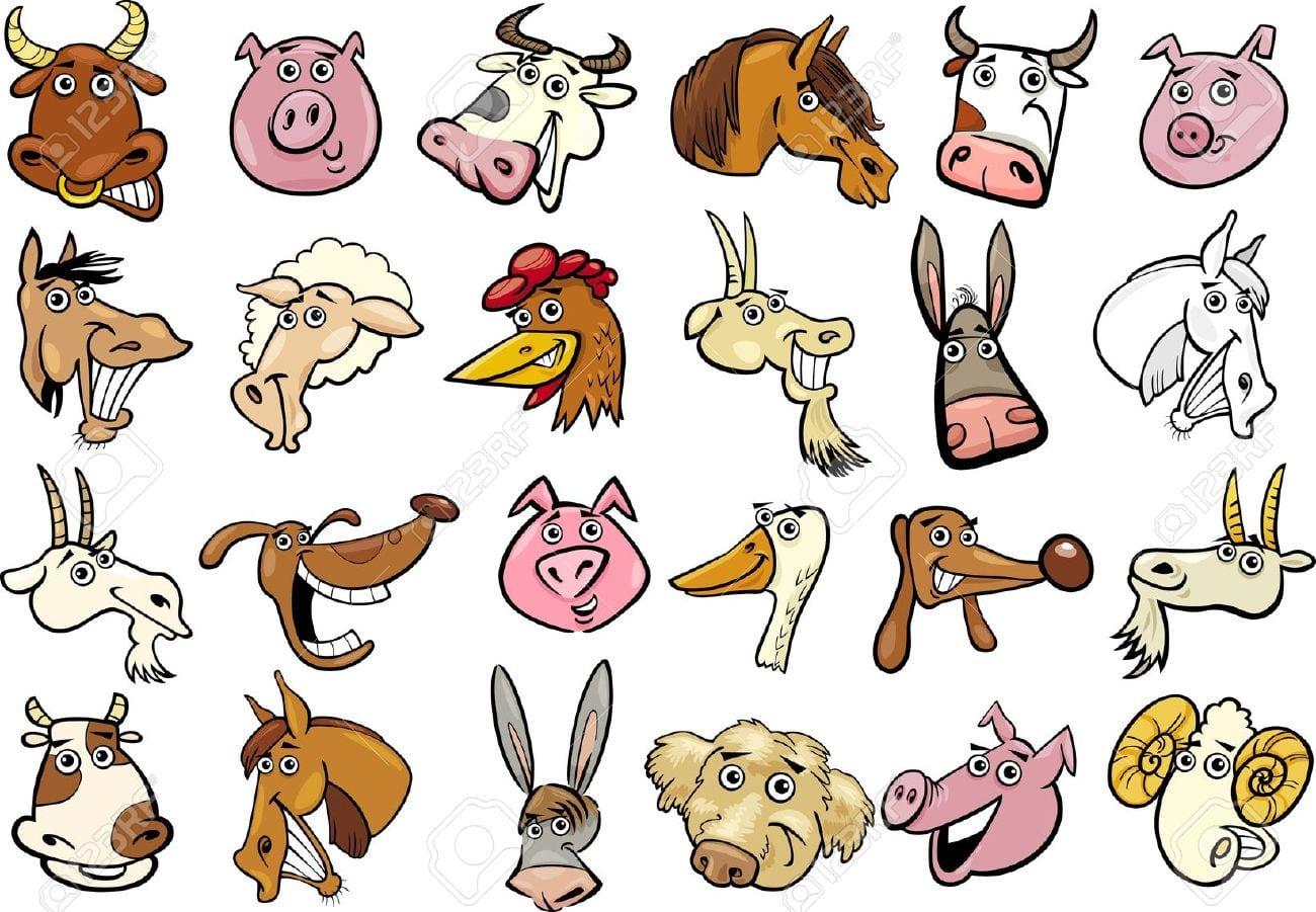 Como Desenhar Uma Fazenda Com Animais