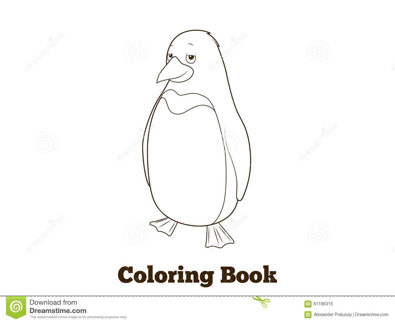 Ilustração Do Vetor Do Livro Para Colorir Dos Desenhos Animados Do