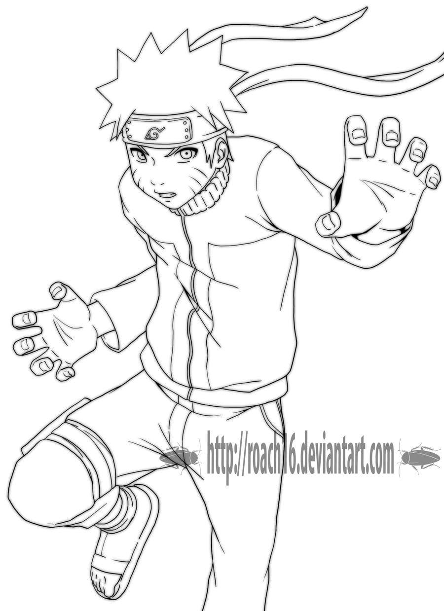 Jogos De Colorir Do Naruto
