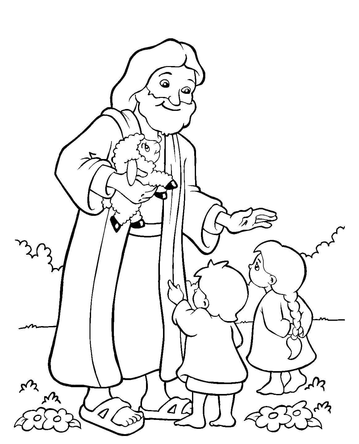 Imagens Para Pintar De Jesus