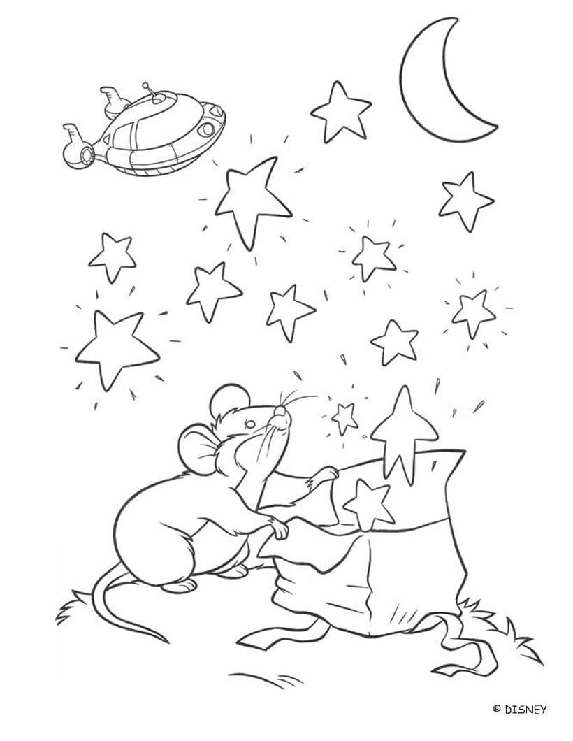 Desenhos Para Colorir De Desenho Do Ratinho Dos Mini Einstens Para