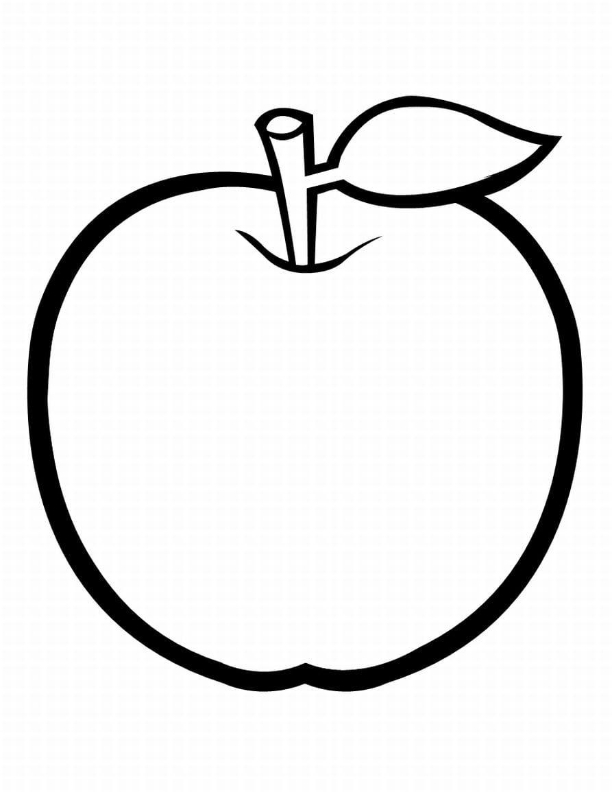 Frutas E Legumes Para Colorir