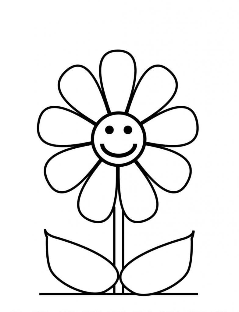 Margarida Sorrindo – Desenhos Para Colorir