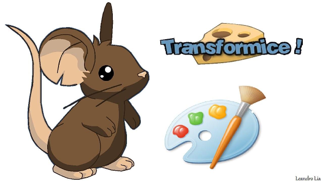 Desenhando O Ratinho Do Transformice No Paint