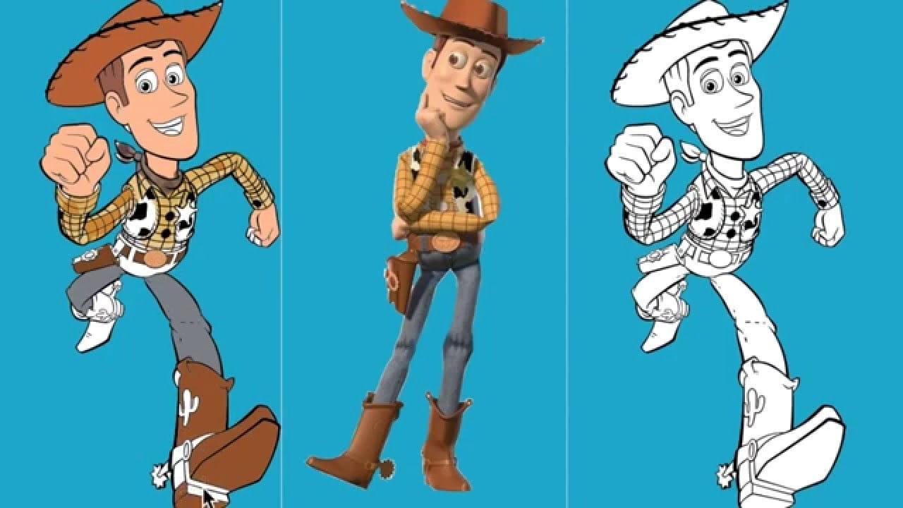 Juego De Pintar Toy Story