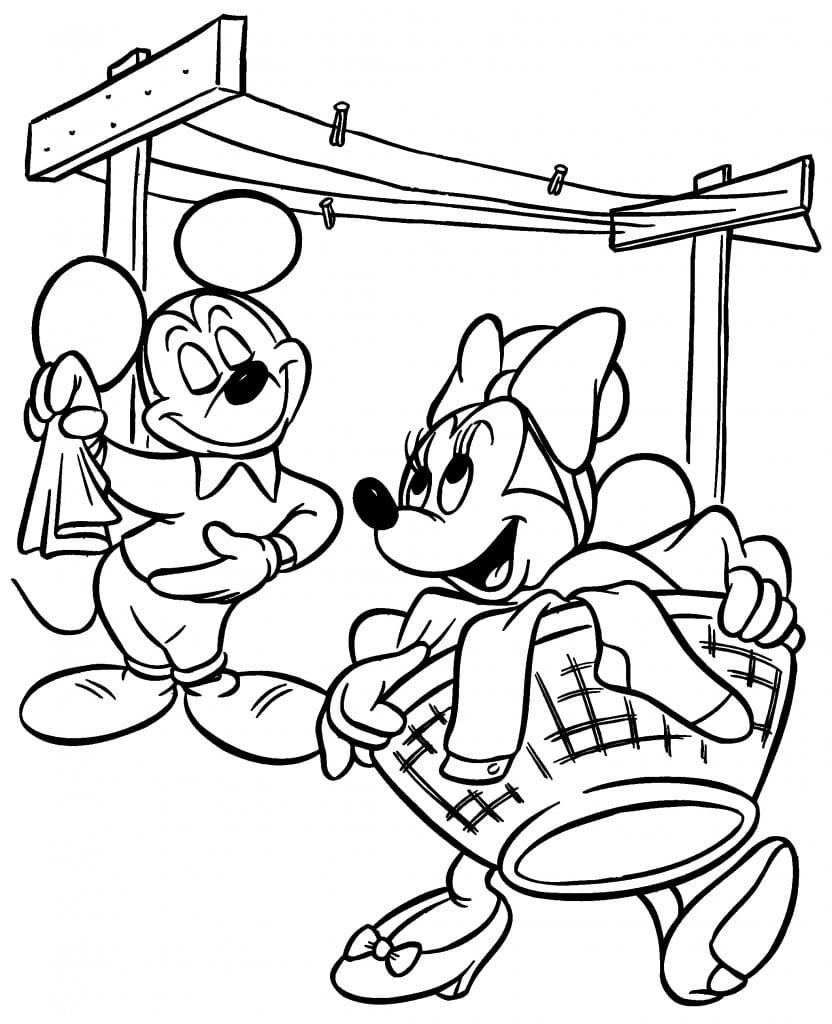 Desenhos Da Minnie Para Colorir E Imprimir