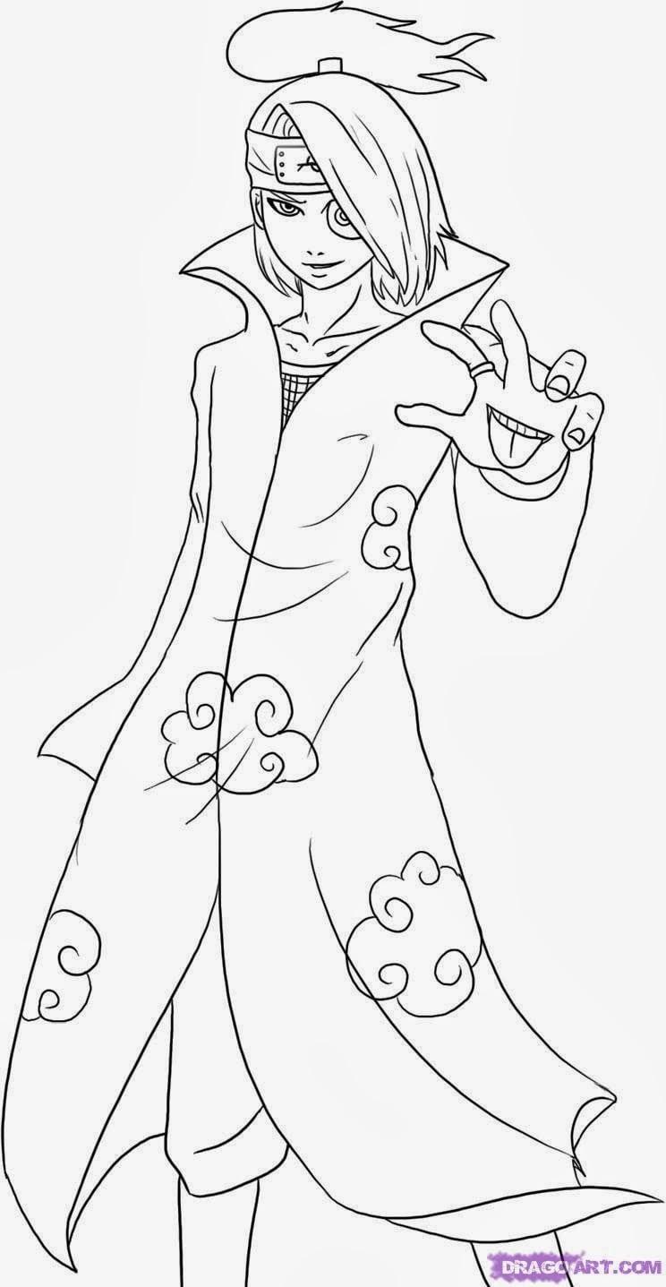 Desenhando Com Lápis  Naruto Shippuden