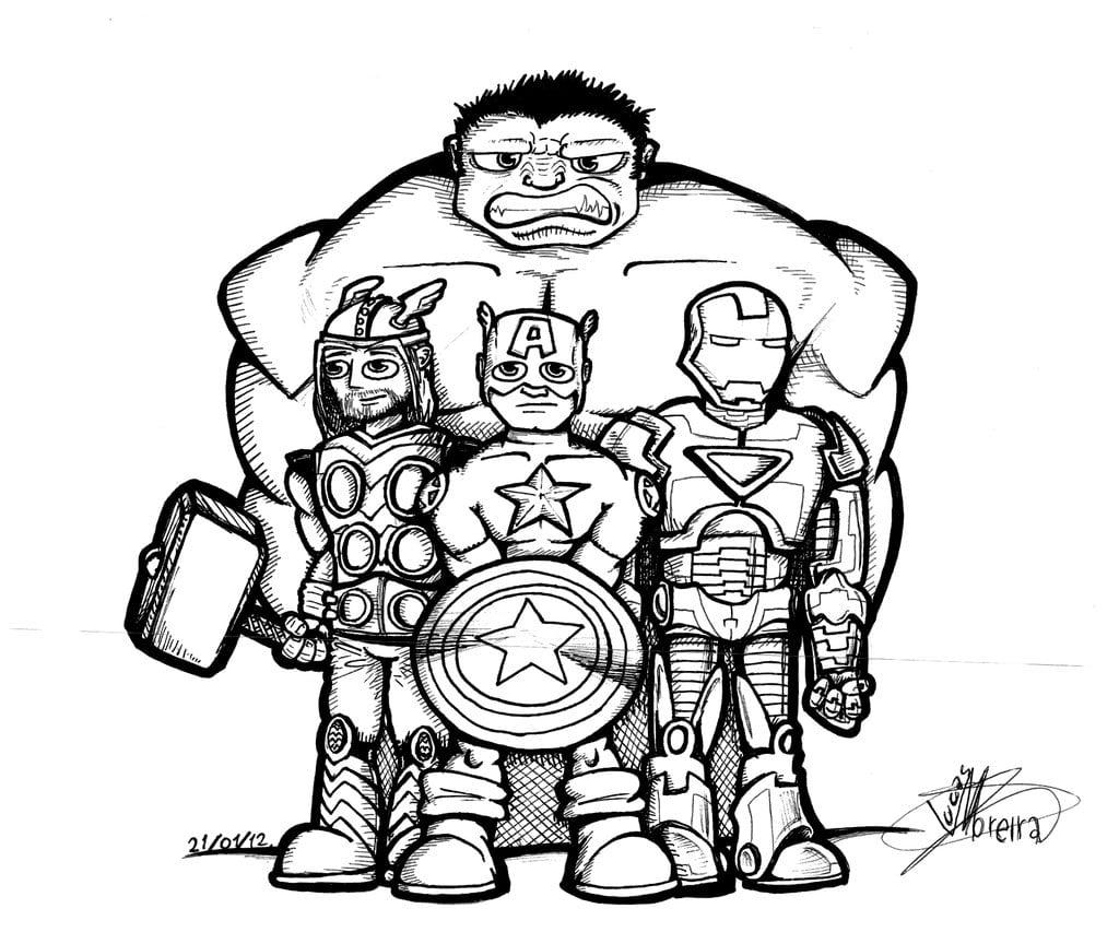 Os Vingadores By Lucasmoredec On Deviantart