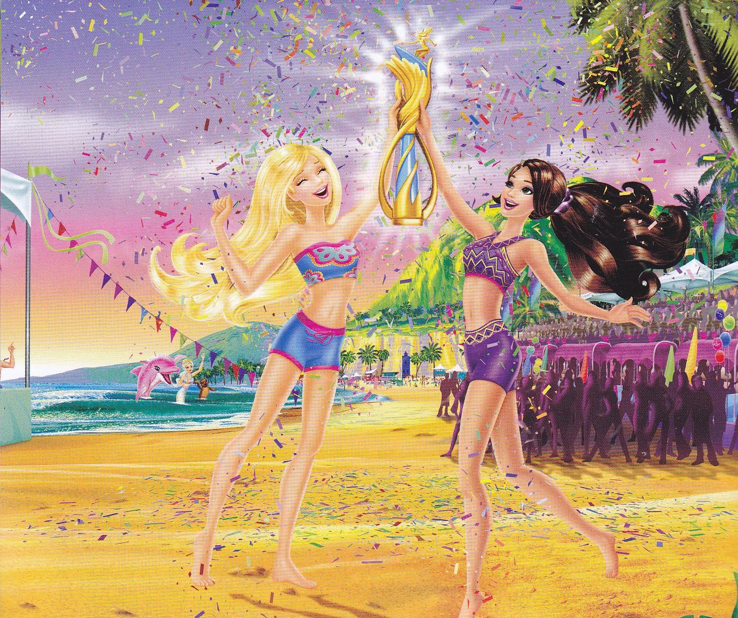 Sempre Barbie  Barbie Em Vida De Sereia 2