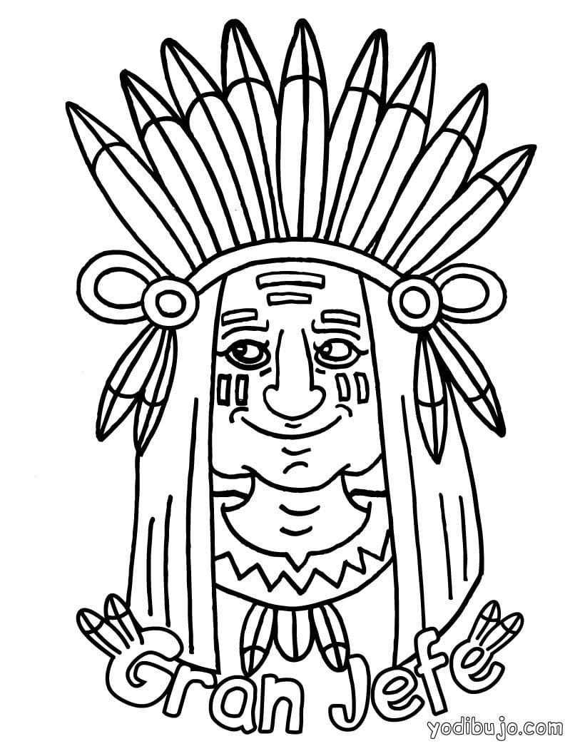 Vaqueros E Indios  Dibujos Para Pintar