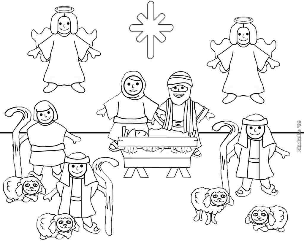 Desenhos De Natal Para Colorir E Imprimir Grandes
