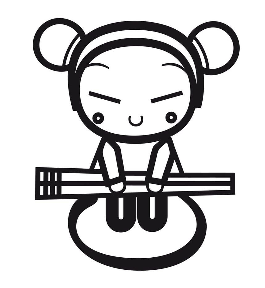 Pucca Typography By Aneixon On Deviantart
